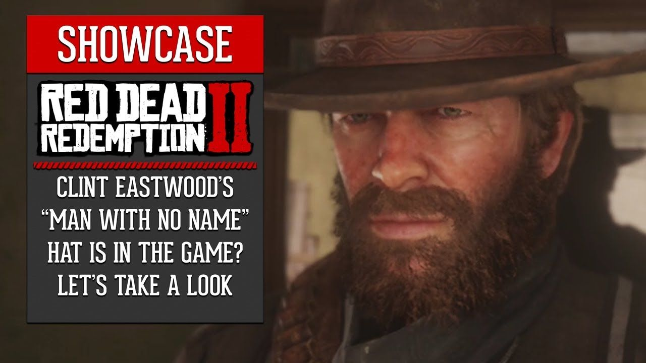Red Dead Redemption 2 Clint Eastwood S Hat Is In The Game With