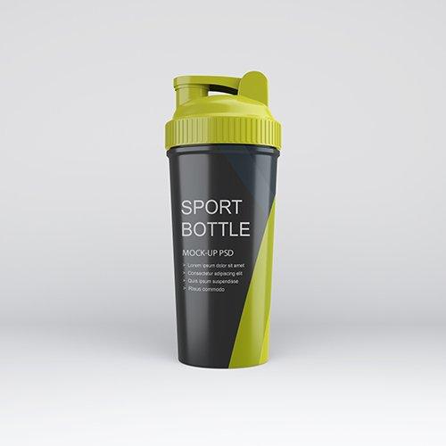 Download Sports Bottle Psd Mockup Free Psd Templates Sport Bottle Bottle Mockup Mockup Psd