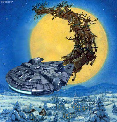 A Christmas Star Wars Image Star Wars Christmas Star Wars Hu