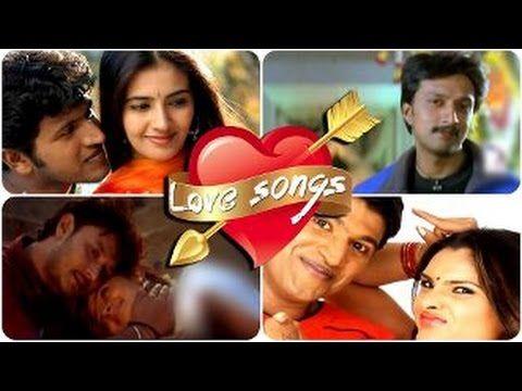 Best Non Stop Kannada Love Songs Video Songs Hd Sudeep Darshan Punith Rajkumar Songs Love Songs Youtube