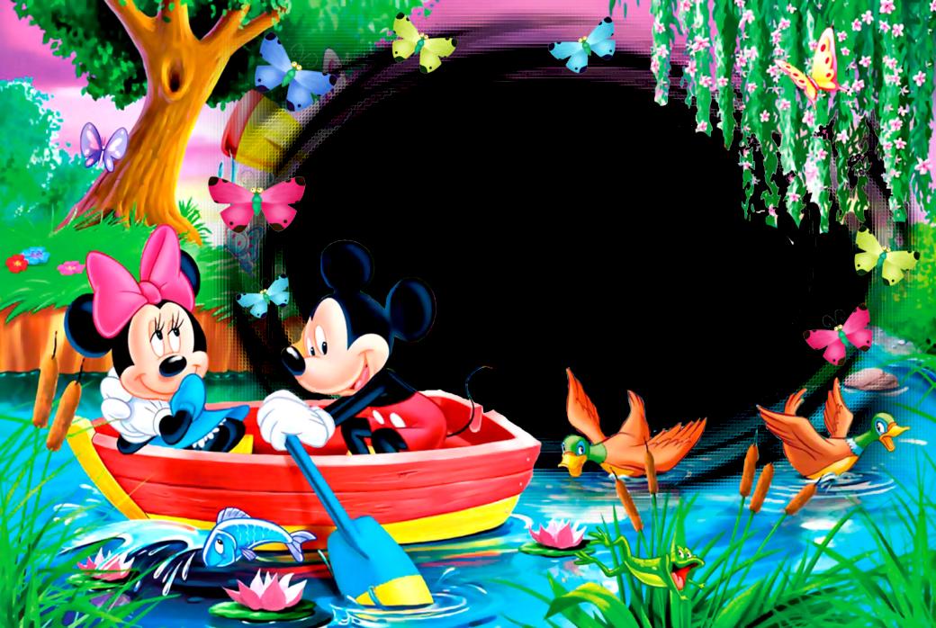 Marcos Png de Mickey Mouse para Niños. | Marcos Gratis para ... | อ ...