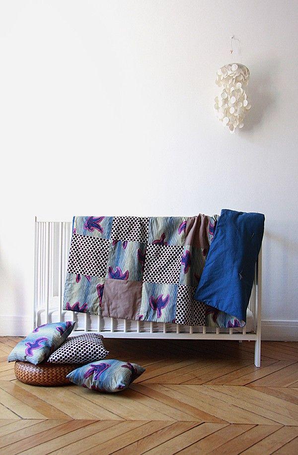 linge de maison wax Tissus africains/deco Pinterest Wax and Dan