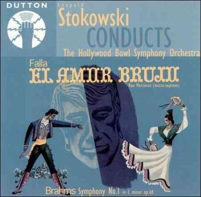 Leopold Stokowski - Conducts Hollywood Bowl Symphony Orch., Black