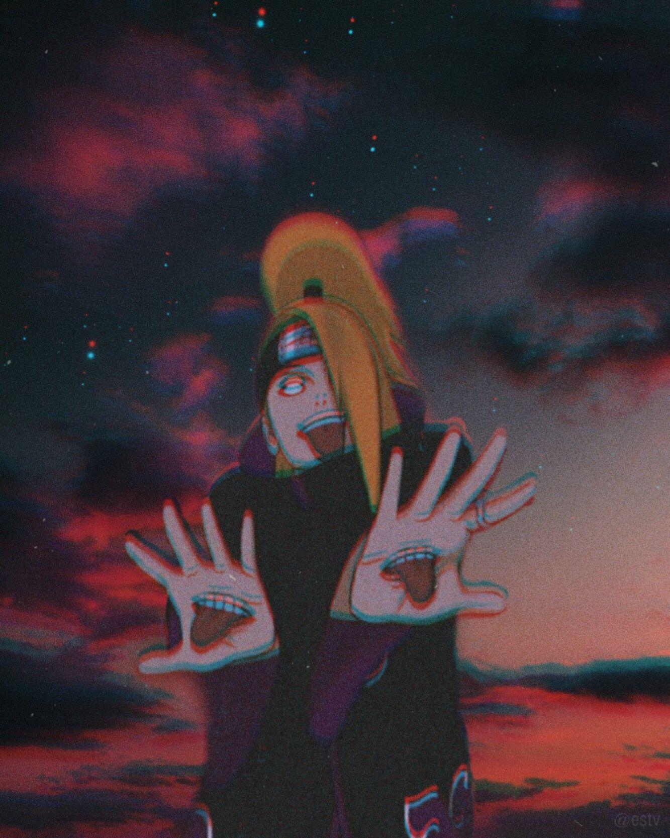 Deidara Deidara Naruto Aesthetic Com Imagens Deidara