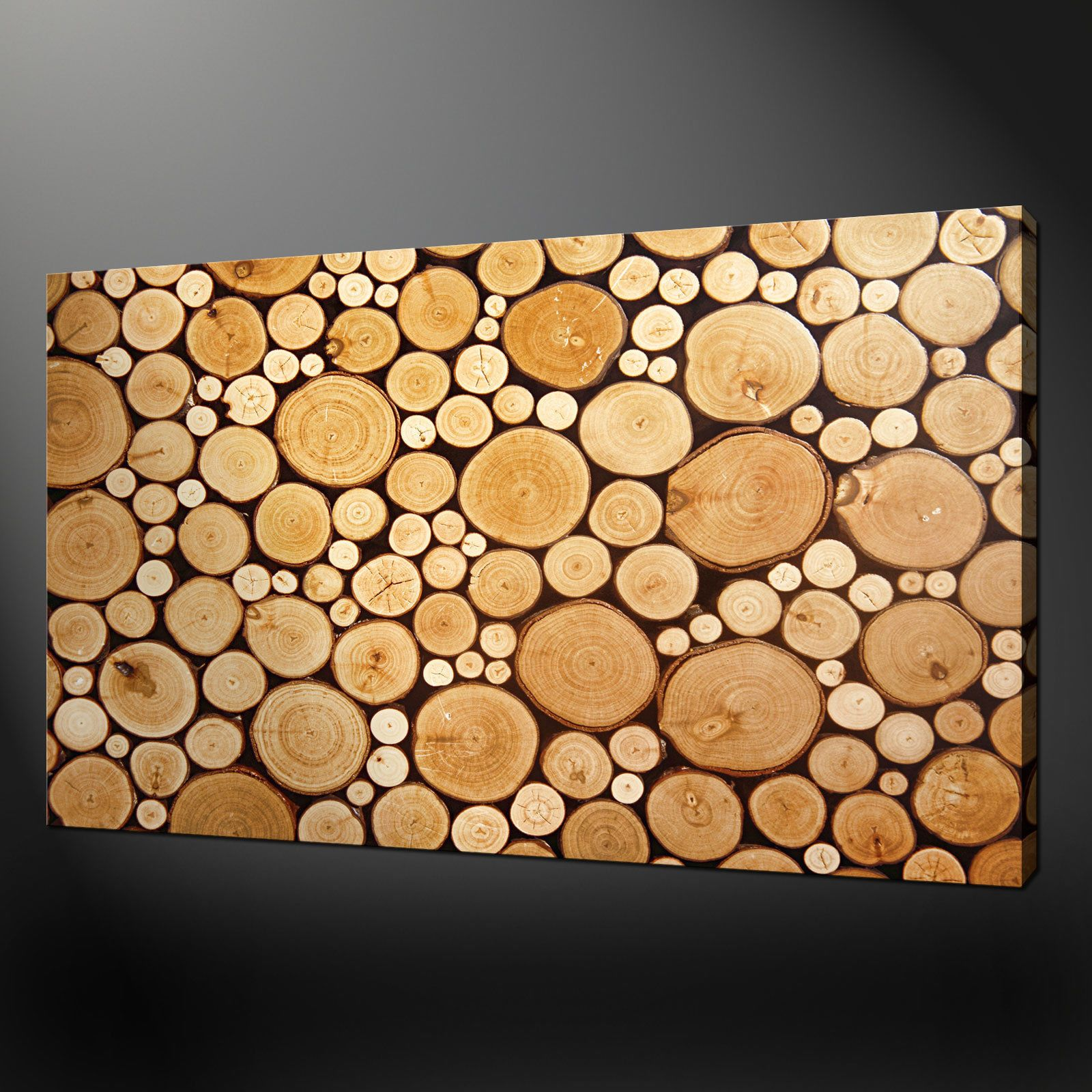 noble wood logs box canvas print wall art design free n wall art design free uk - Wall Art Design