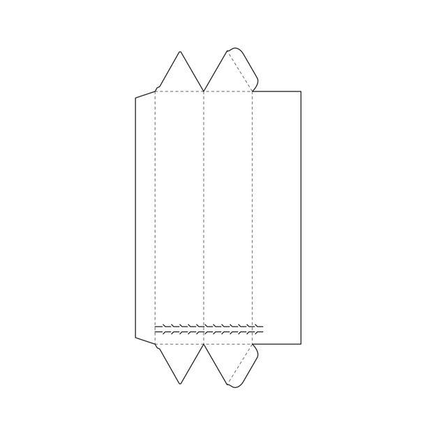 triangle box template. Packaging ...  sc 1 st  Pinterest & triangle box template | Packaging | Pinterest | Box templates ... Aboutintivar.Com