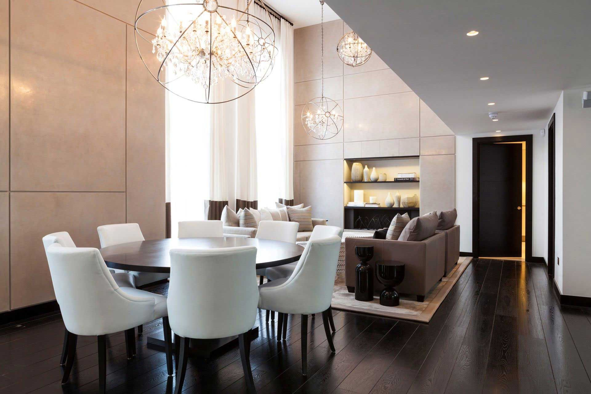 contemporary chic london apartment by kelly hoppen interiors