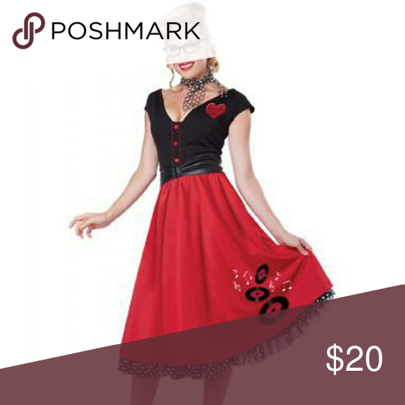 50's Costume Red and black 50's costume brand new never worn. Purchased from Amazon. Other