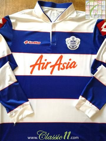 Official Lotto Queens Park Rangers home long sleeve football shirt from the  2013 2014 season b06a54903
