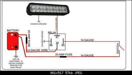 Wiring Diagrams Bar Lighting Led Light Bars Automotive Electrical