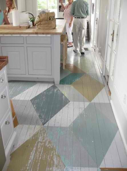 Paint Old Wood Floors