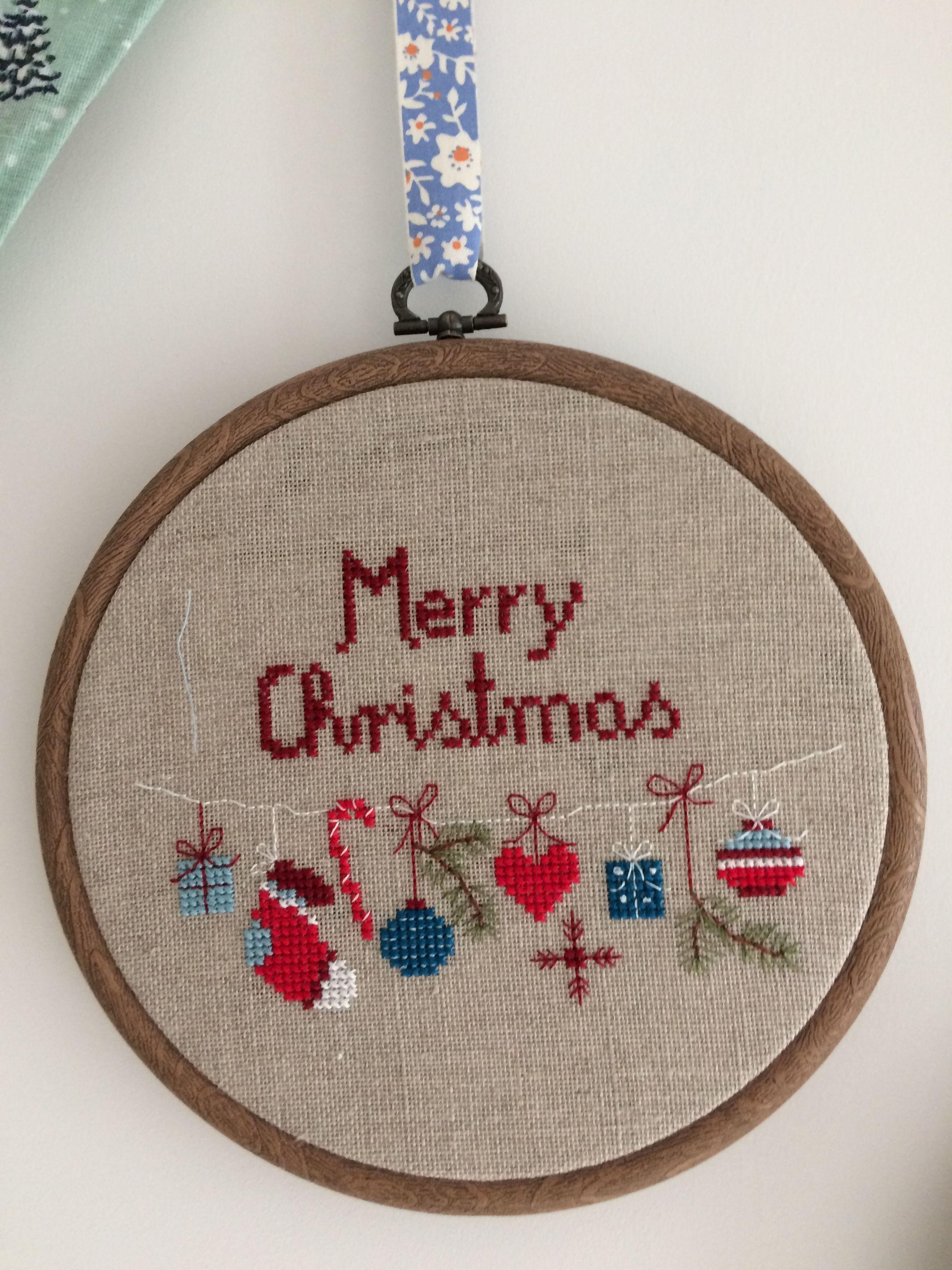 Xmas, a little quickie design. | Cross Stitch Christmas-Winter ...