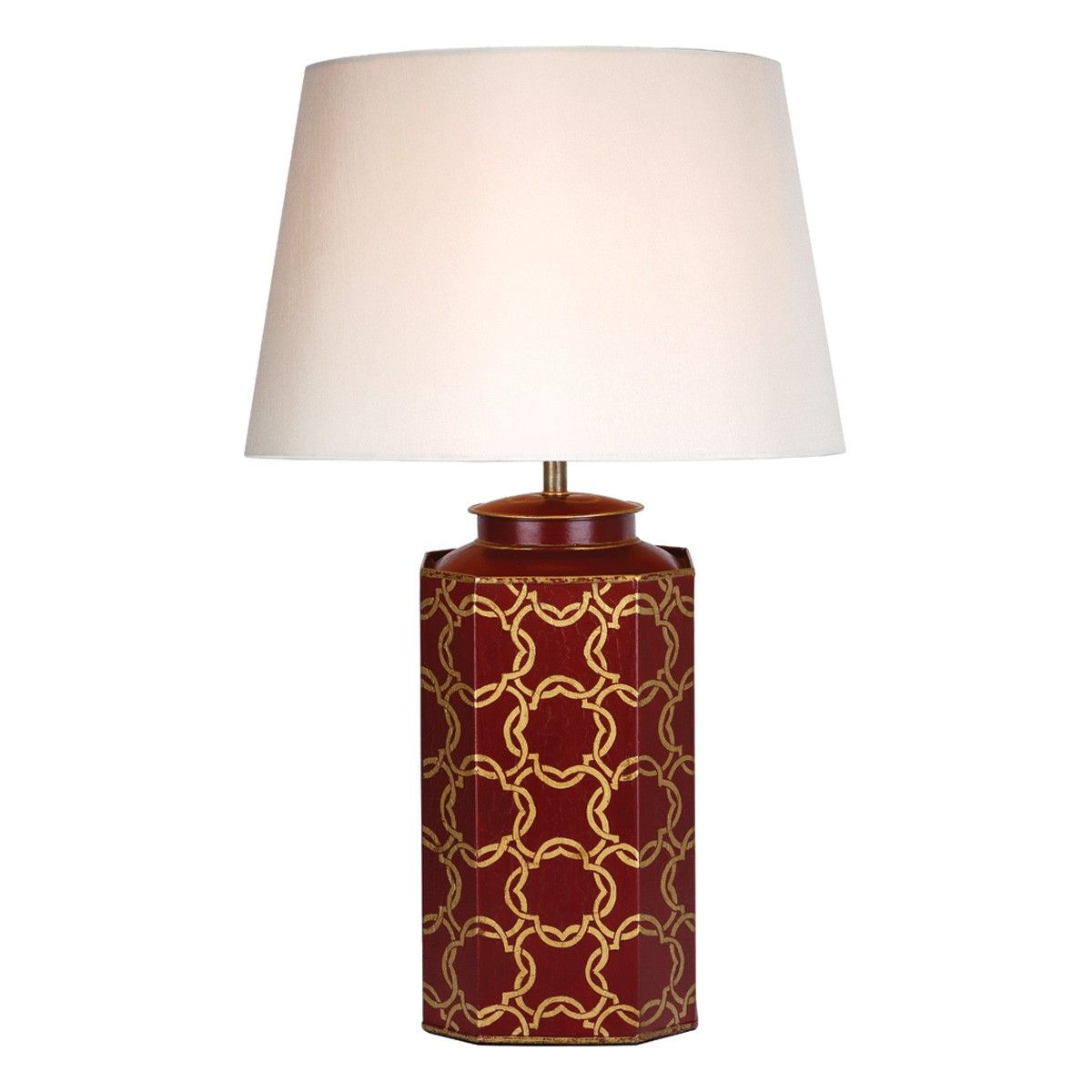 Hiram Table Lamp Red Gold Base Only The Hiram Table Lamp Has A Tea