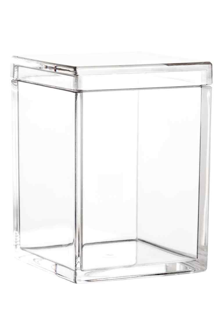 Boîte en plastique | Boite plastique, Boite rangement plastique, Petites boîtes de rangement