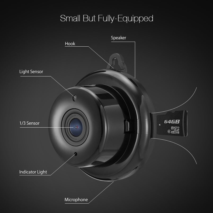 Digoo Dg M1q 960p 2 8mm Wireless Mini Wifi Night Vision Smart Home Security Ip
