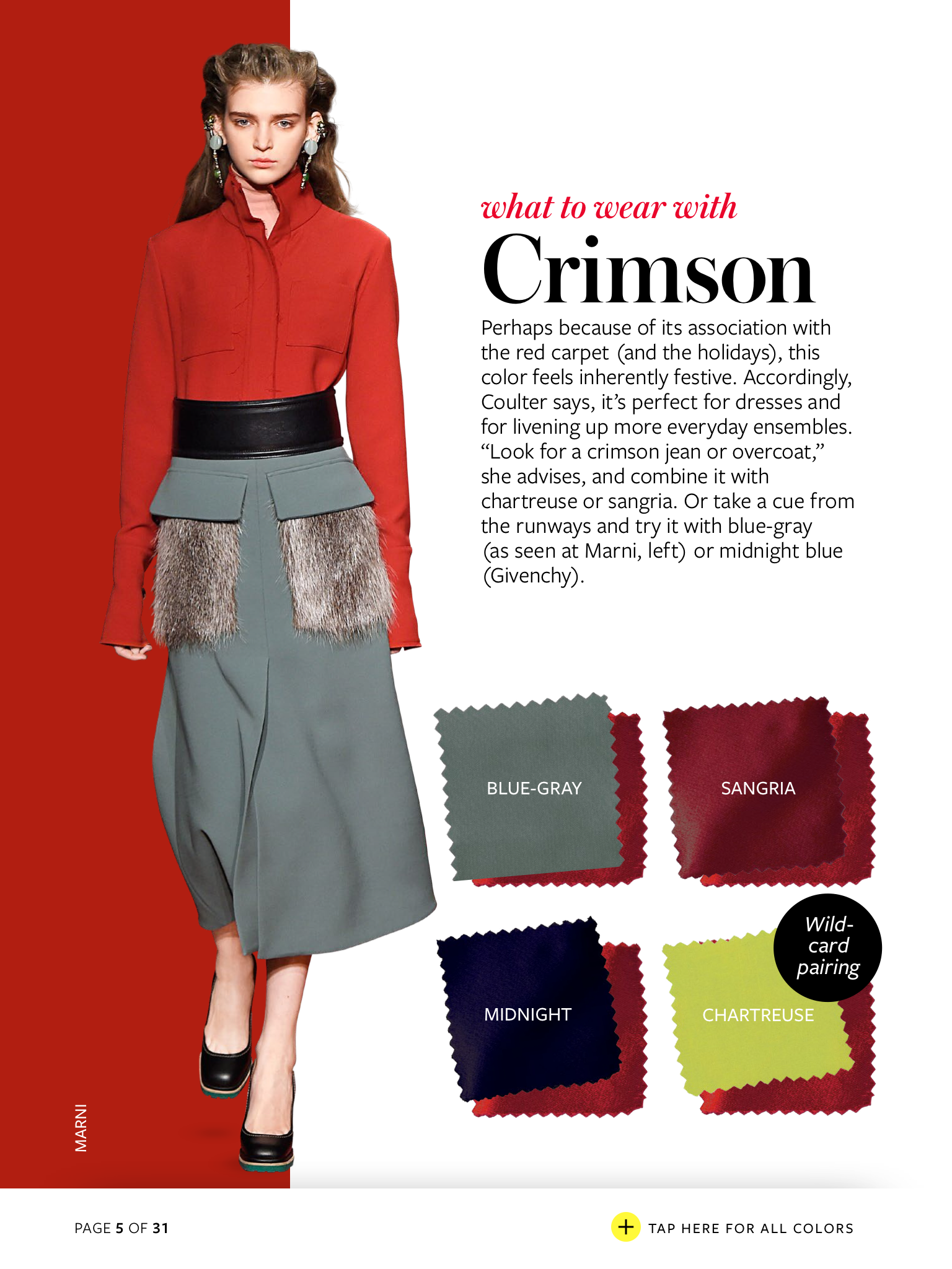 5 Beautiful Outfit Color Combinations for the Holidays