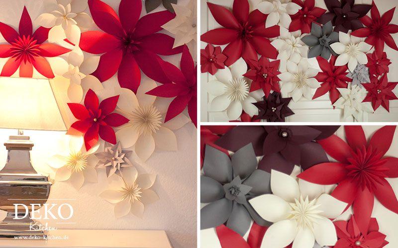 Flores De Pascua En Fieltro Flor De Paper Estrellas De Navidad Manualidades Navidenas