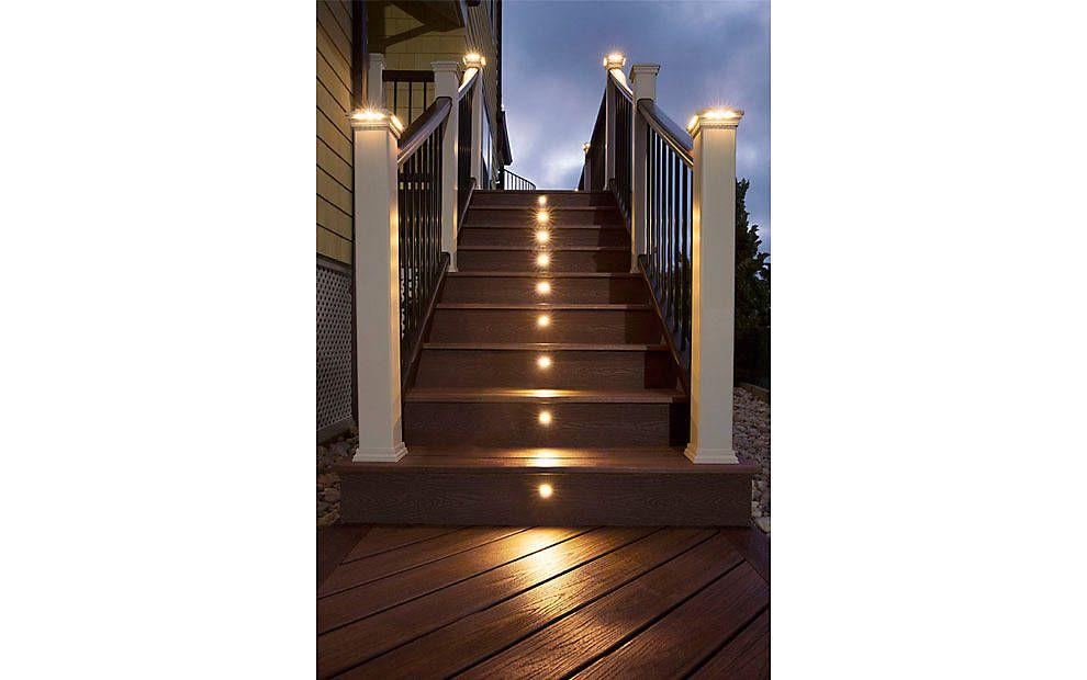 trex deck lighting deck step lights