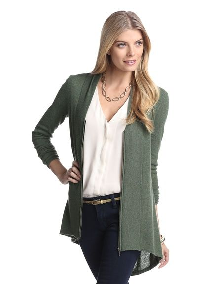 aec5a63f3b Cullen Women s Zip-Up Cashmere Cardigan at MYHABIT