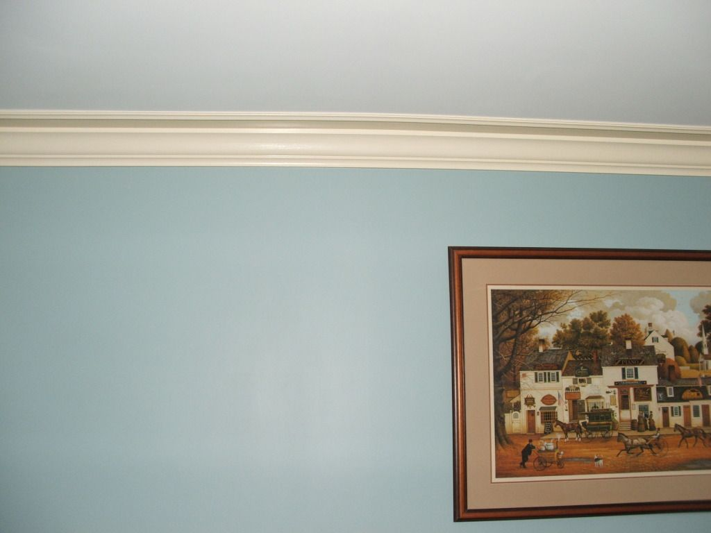 Alternative to crown molding - Crown Molding Trick For Low Ceilings I M Not Sure I Understood His Instructions