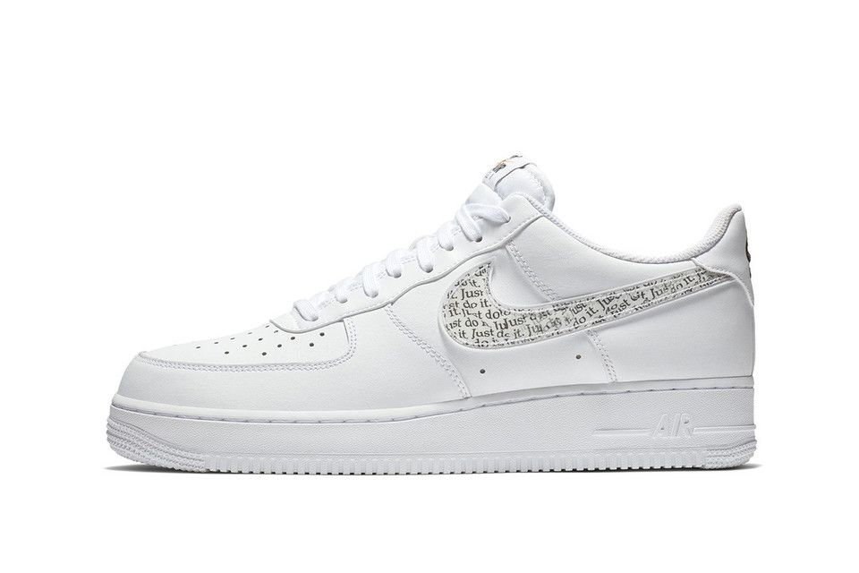 Nike S Air Force 1 Low Is The Latest Model To Join The Just Do It