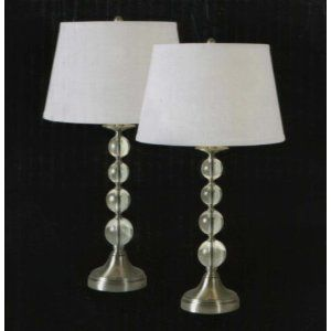 Venezia 2-piece Table Lamp Set $80 at costco | Table lamp ...