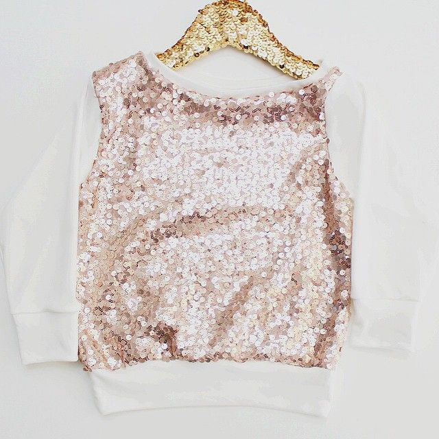 New slouchy top with our signature gorgeous blush sequins!  You can find it on our website✨