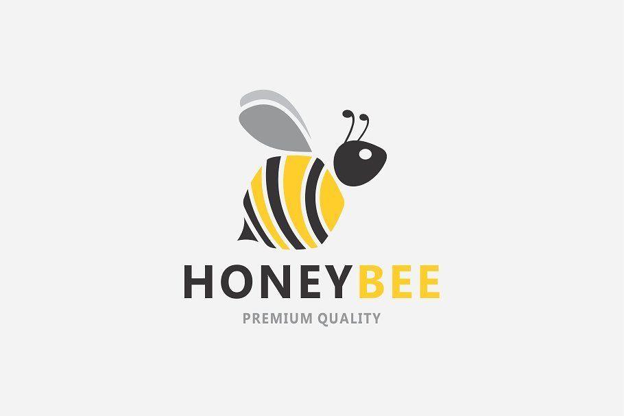Bee logo brand logo logos logo design