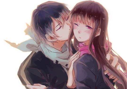 Yato and Hiyori noragami