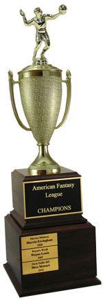 State Championship Award Fantasy Football Gifts Fantasy Football Trophy Fantasy Football Champion