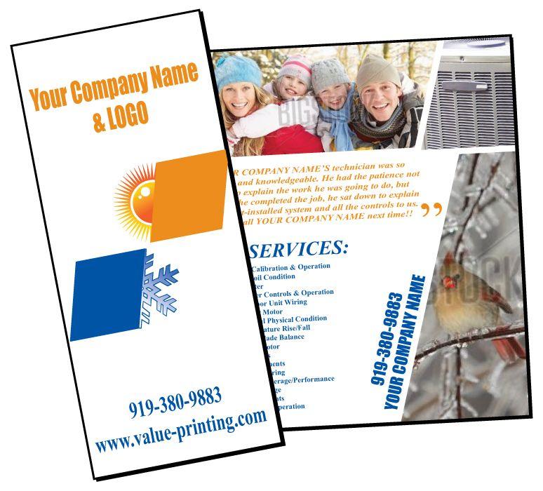 HVAC Extended Service Maintenance Agreement Brochure #4 Value - maintenance agreement