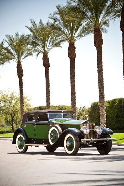Marlene Dietrich's former 1929 Rolls-Royce Phantom I Transformable Convertible Sedan