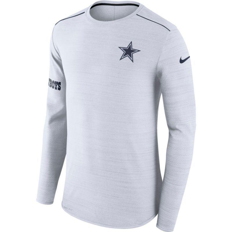Wholesale Nike Men's Dallas Sideline 2017 Breathe Long Sleeve Top, Team  for sale