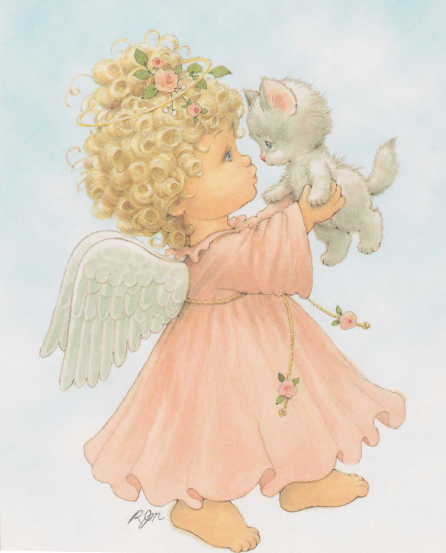 Открытки цветочек милый ангелочек