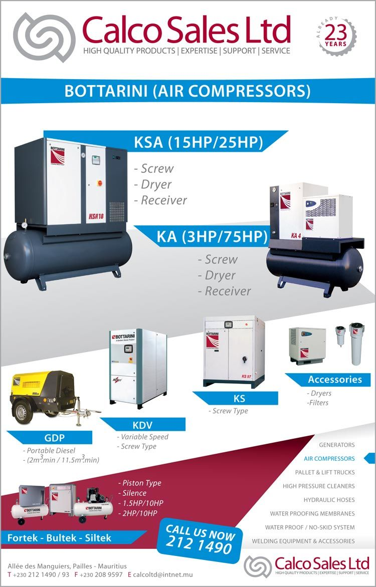 Calco Sales Ltd Huge Selection of Commercial Air