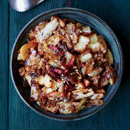 Sichuan-Style Hot-and-Sour Cabbage
