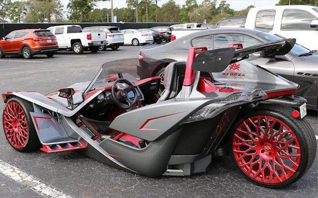 Slingshot Modified Race Cars