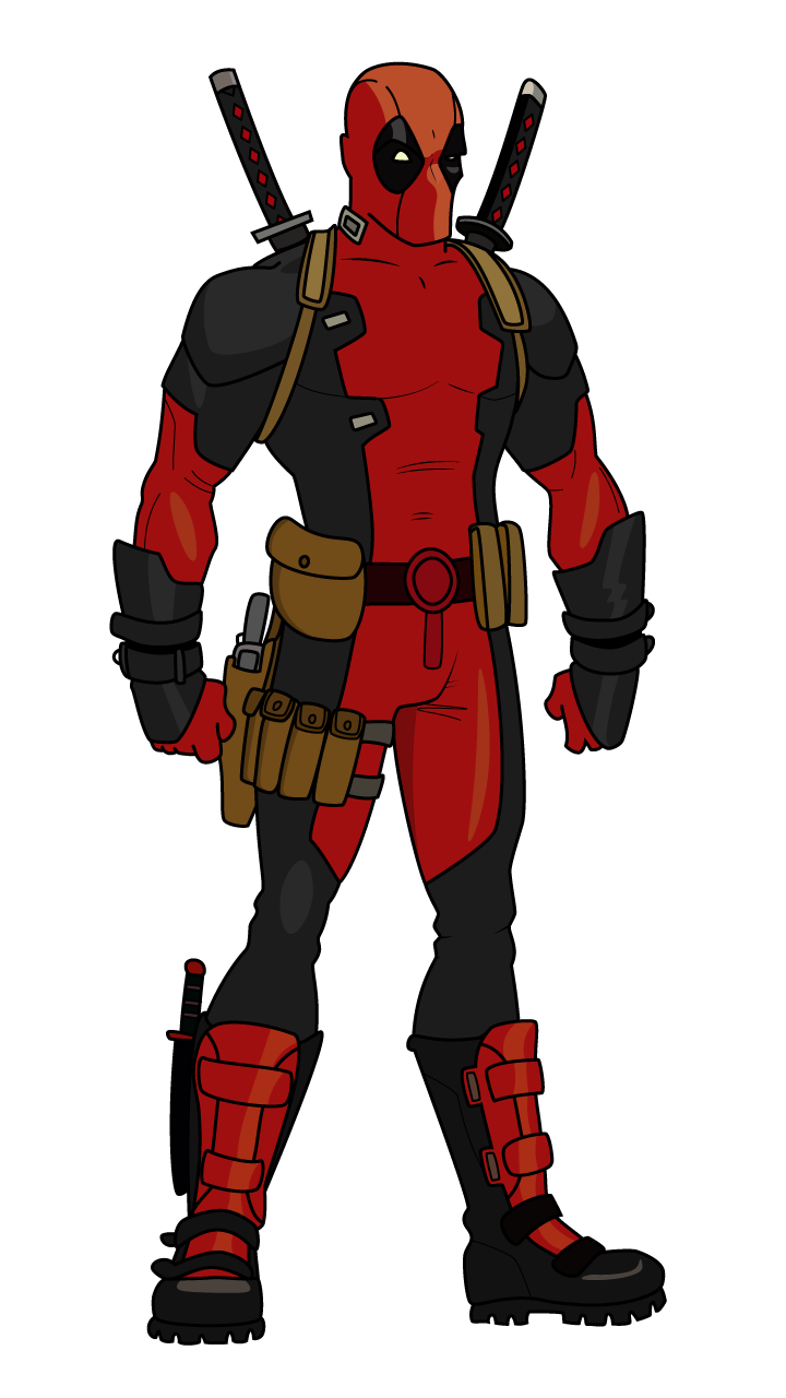 How amazing is deadpool movie we prepared a drawing tutorial that will teach you how