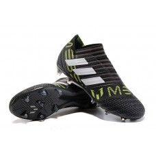 online store da940 656d6 Mejor Botas De Futbol Adidas Nemeziz Messi 17+ 360 Agility FG Negro Blanco  Amarillo