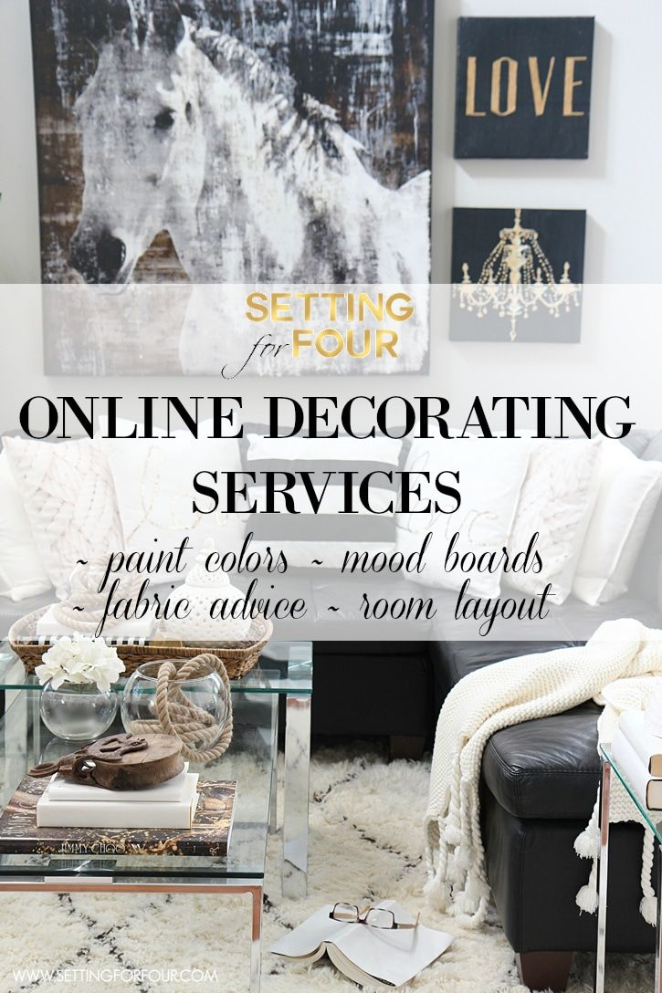 Online Decorating Services & Color Advice | Setting for Four ...