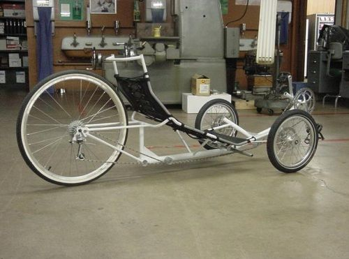 how to build a reverse steering bike