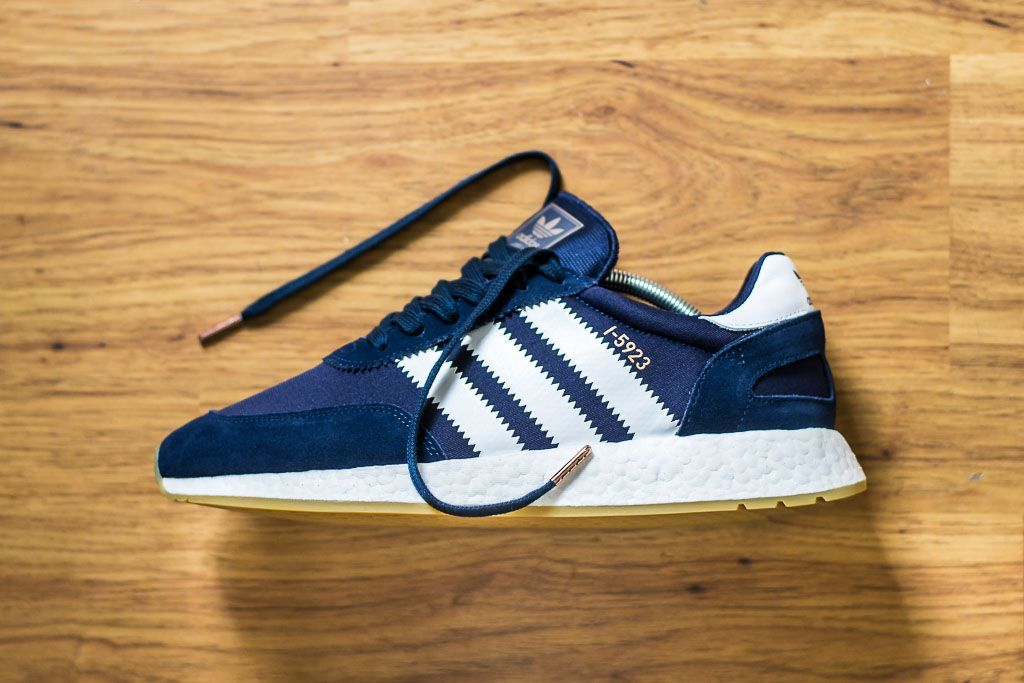 Adidas I 5923 Iniki Navy Sneaker Pickup & Unboxing | Kicks