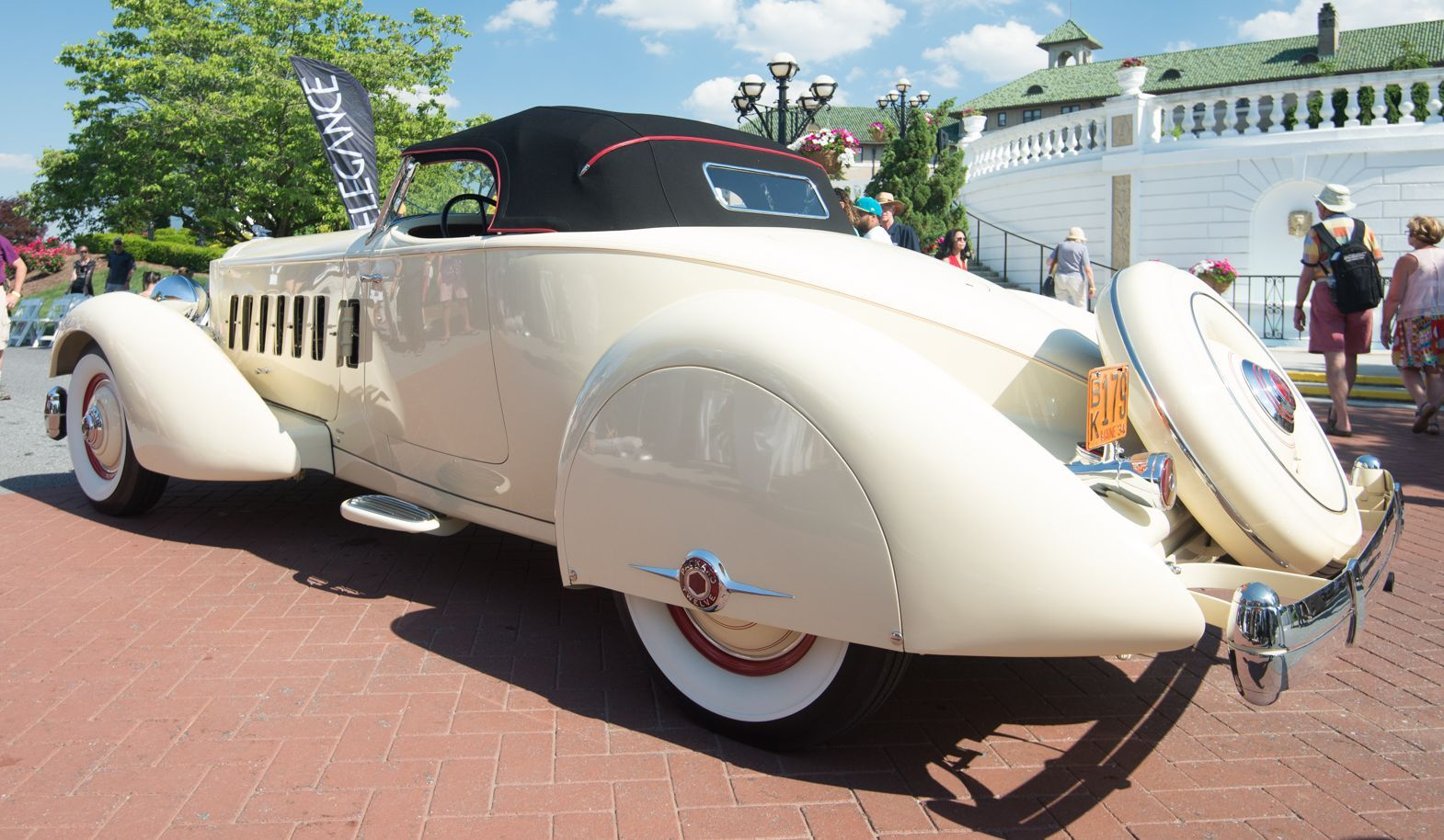 1934 Packard Twelve LeBaron Runabout Speedster takes Gover | Hemmings Daily