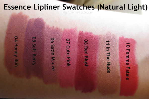 Matejas Beauty Blog: Essence Longlasting Lipliner 05
