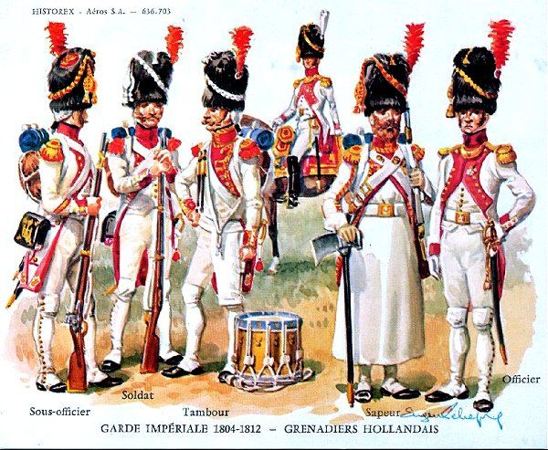 Image result for dutch grenadiers