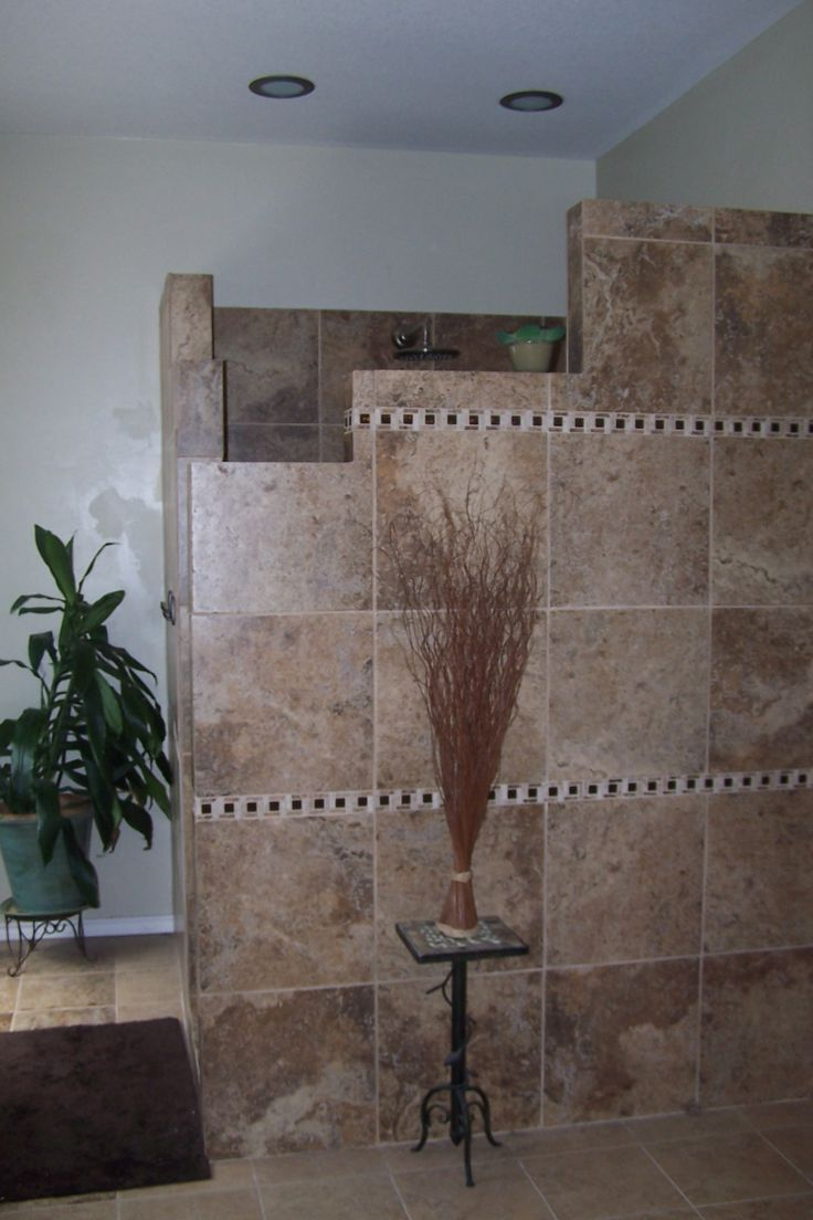 Enhancing Your Home and Lifestyle Walk In Door Less Tiled Shower