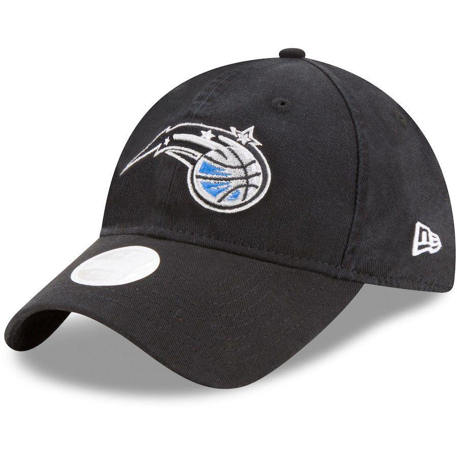bc2fab7a5c9 Men s Orlando Magic New Era Black On-Court 39THIRTY Flex Hat
