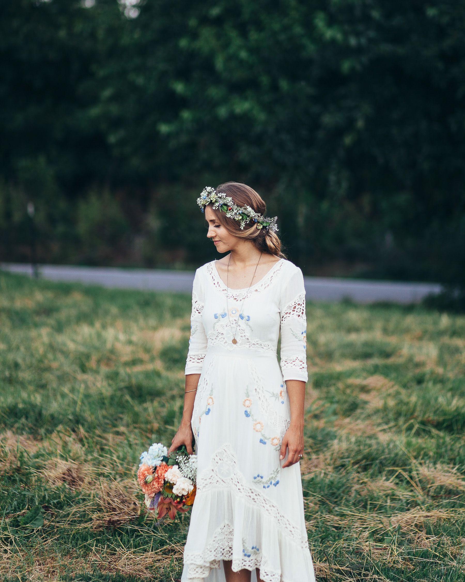 Diy Wedding Gowns: Midwest DIY Boho Wedding-87