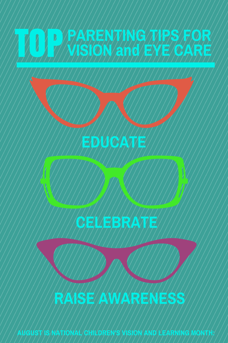 a716181349 August is Children s Vision and Learning Month. Tips for keeping eyes safe.  Find support for kids in glasses. Celebrate having a kid in glasses.