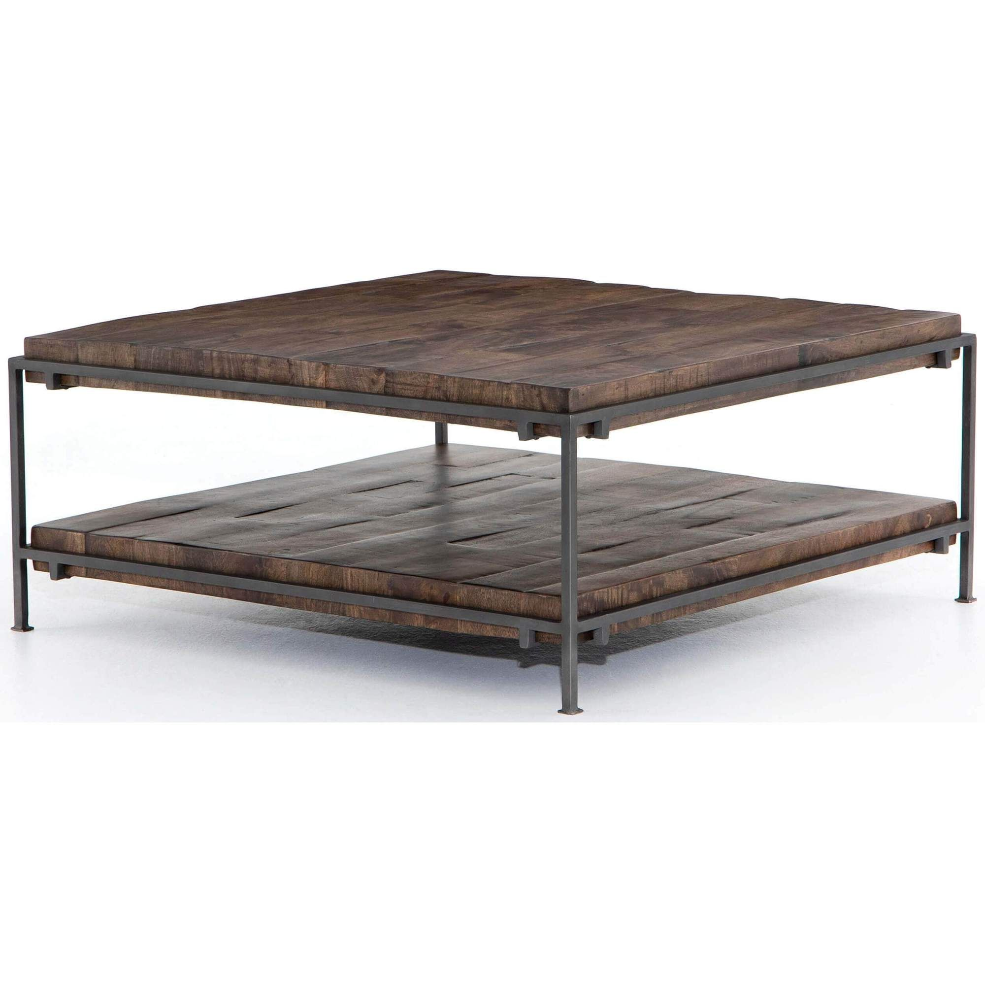 Simien Square Coffee Table Coffee Table Square Coffee Table Wood Coffee Table Rustic [ 2000 x 2000 Pixel ]